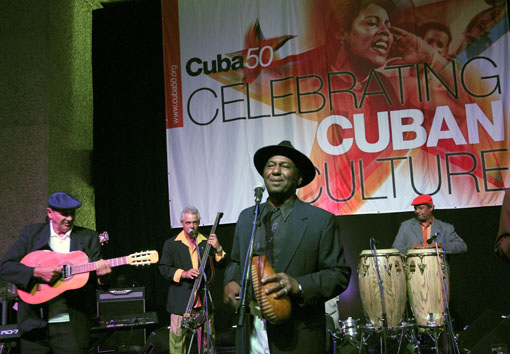 Cuba 50 / Blaze Barbican festivalLondon, June 09 Photo © Julio Etchart